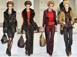 El embajador dominicano de la moda propone un otoño-invierno de puro lujo con el animal print, el eterno negro, rojo, dorado y audaces combinaciones de colores.