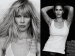 Claudia Schifffer y Cindy Crawford