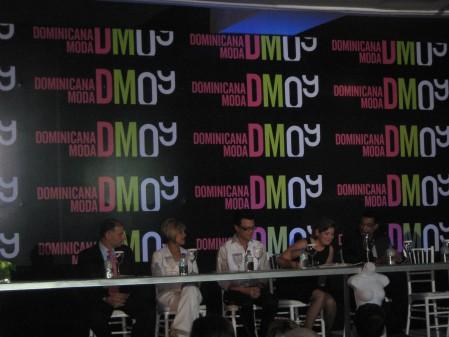 Los organizadores DM 09 durante la presentación